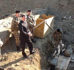 Sottosegr. Rossi a Civitavecchia per despolettamento bomba della II Guerra Mondiale