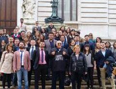 """""""Onda d'Urto"""" a Montecitorio: studenti cassinati visitano la Camera dei Deputati con l'on. Mario Caruso e con l'on. Potito Salatto"""