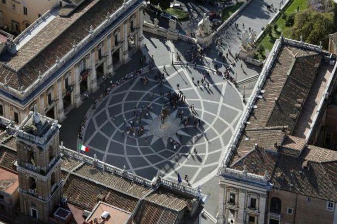 FRANCESCO TOIATI ROMA natale per roma FOTO AEREE campidoglio