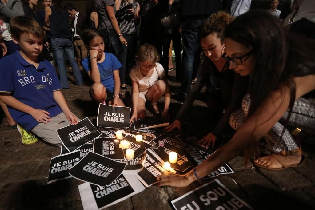 BRAZIL-SAO PAULO-PARIS ATTACK-DEMONSTRATION