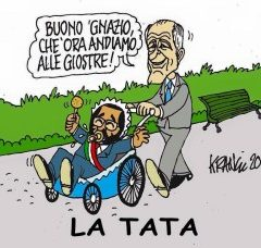 ROMA/Salatto: negate le elezioni per non far crollare il Pd