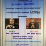 Latina – incontro pubblico sul referendum costituzionale