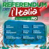 Un referendum per l'Italia – le ragioni del NO – Milano sabato 5 novembre