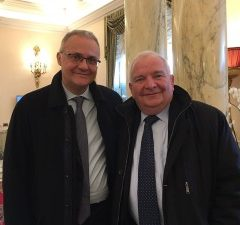 Mario Mauro incontra Daul, Presidente PPE