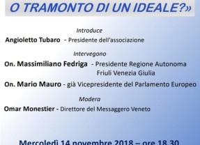Mario Mauro ad Udine