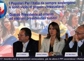 Venezuela: I Popolari per l'Italia da sempre sostengono il popolo venezuelano.