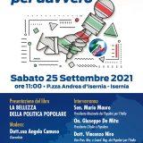 """Isernia per davvero, sabato 25 settembre la presentazione del libro """"La bellezza della politica popolare"""""""