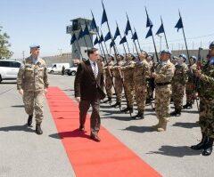 Sottosegr. Difesa Rossi in visita a Caschi blu in Libano