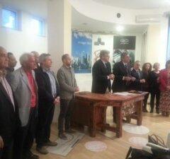 Il Vice ministro delle Politiche agricole Andrea Olivero a Termoli