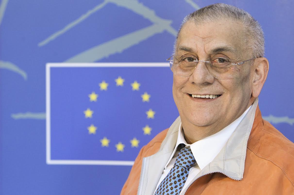 MEP Potito SALATTO in the European Parliament in Strasbourg