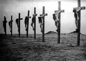 crocifissione donne armene