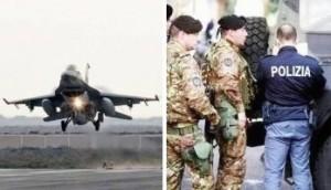 Raid-aerei-militari-polizia